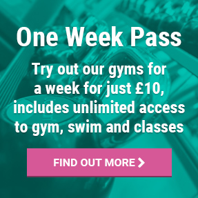 One week gym pass