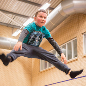 Gymnastics coaching at Burntwood Leisure Centre